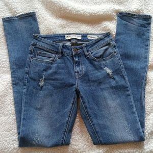 Bullhead Lowrise Distressed Skinny Jeans 1